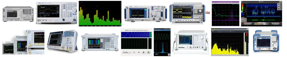 SPECTRUM ANALYZERS FOR SALE, FOR RENT, FOR AUCTION